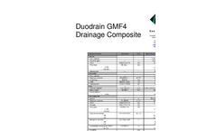 DUO DRAIN GMF4 DRAINAGE COMPOSITE