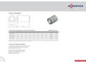 Model CP01-M10 - 100mm Diameter Spigotted Silencer Brochure