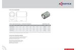 Model CP01-M12 - 125mm Diameter Spigotted Silencer Brochure