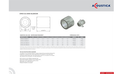 Model CP03-C-0355 - DIA - Fan Mounted Silencer Brochure