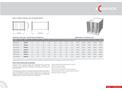 Model R02 3 - Rectangular Duct Silencers Brochure