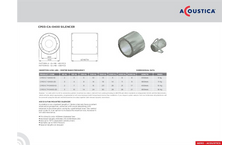 Model CP03-C-0400 -DIA - Fan Mounted Silencer Brochure