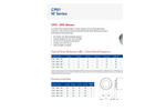 Acoustica - Model CP01 M Series - Spigotted Silencer - Datasheet