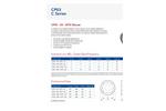 Acoustica - Model C Series - Fan Mounted Silencers - Datasheet
