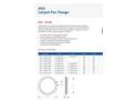 Acoustica - Model IP01 - Limpet Fan Flange - Datasheet