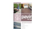 Paving for Rain - Brochure