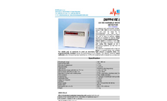 Sapphire 800 UV-VIS Variable Wavelength Detector Brochure