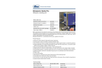 Elmasonic - Model Denta pro - Ultrasonic Cleaning Unit Datasheet