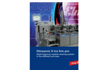 Elmasonic X-tra Line - Model Pro - Modular Multi-Frequency System Datasheet