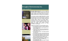 Straughan Environmental NEPA