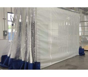 DuroRoom - Portable Retractable Clean Room Enclosure Systems