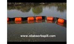 Heavy Duty Permanent Debris and Trash Boom - Video