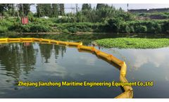 PVC Oil Spill Containment Boom Manufacturer - Video