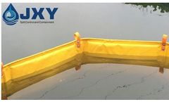 JXY - Model OFB910 - Fence Type Oil Boom