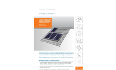 Conergy - - Sloped Roof Mounting System Brochure