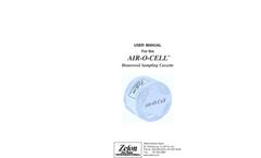 Zefon - Air-O-Cell - Sampling Cassette - Box of 10 User Manual