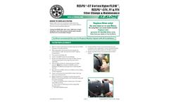 RadialSHIELD - Model MERV 16/F9 - FEFF111 - Inline Filter Brochure