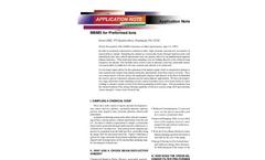 Extrel's VeraSpec - Molecular Beam Mass Spectrometry Systems Brochure