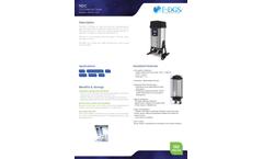 NDC - CO2 Free Air Dryer - Brochure