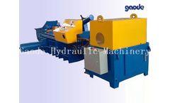 GAODE - Model HC81F-1000 - Metal Recycling Baler
