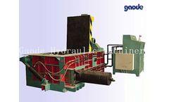 GAODE - Model HC81F-1600 - Hydraulic Baler