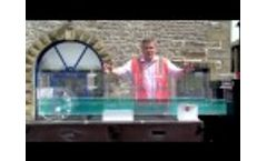 Hydraulic Flume Demonstration JBA Consulting JBA Consulting Video