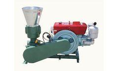Amisy - Model AMSPLM - Diesel Flat Die Feed Pellet Mill