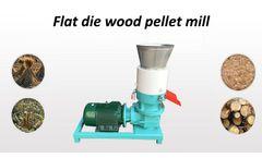 Amisy - Electric Flat Die Wood Pellet Mill