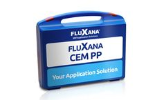Application package FLUXANA Cement Pressed Pellets