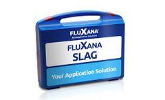 Application package FLUXANA Slag