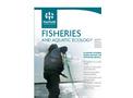 Aquatic Ecology  Brochure