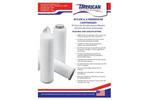 AMBF - Model NY Series - Nylon 6,6 Membrane Cartridges - Datasheet