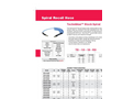 Techniblue - Stock Polyurethane Spiral Recoil Hose Brochure