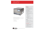 Ultra DI - Model 20 - Liquid Optical Particle Counter - Specification Sheet