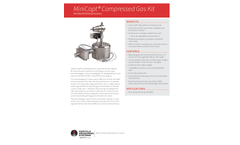 MiniCapt Compressed Gas Kit - Microbial Monitoring Accessory