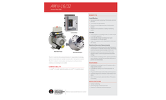 AM II-16/32 Aerosol Manifold - Specification Sheet