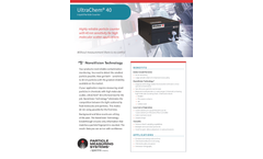 UltraChem - Model 40 - Liquid Particle Counter - Specification Sheet