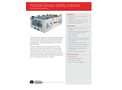 Particle Sensor Safety Cabinet - Ambient Temperature Applications - Specification Sheet