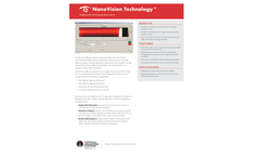NanoVision Technology Software for Viewing Particle Events - Specification Sheet