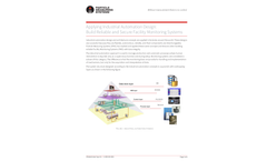 Applying Industrial Automation Design: Build Reliable and Secure Facility Monitoring Systems - Application Note