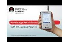 Pinpointing a Particle Source with the Handilaz Mini II Video