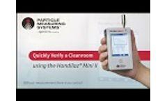 Cleanroom Verification Tool: Handilaz Mini II - Video