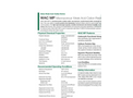 Aldex - Model WAC MP - Macroporous Weak Acid Cation Resin Datasheet