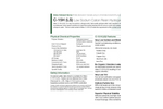 Aldex - Model C-15H (LS) - Low Sodium Cation Resin Hydrogen Form Brochure
