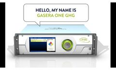 GASERA ONE GHG Greenhouse gas analyzer