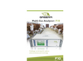 Model F10 - Photoacoustic Multi-Gas Analyzer - Brochure