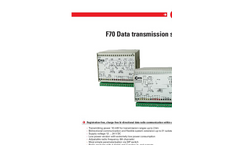 Model F70 - Radio Telecontrol System Brochure