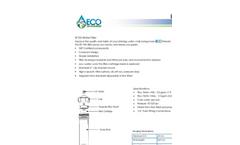 ECO - Model EF100 - Water Filter System Datasheet