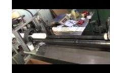 PP meltblown filter cartridge making machine Video