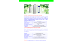Aimer - Model GAC/UDF - Granular Activated Carbon Filter Cartridge Brochure